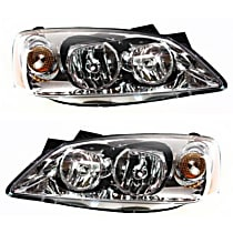 Driver and Passenger Side Headlight, With bulb(s) - Models With CTF Package