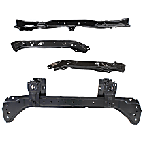 Radiator Support - Upper, Lower and Outer Right and Left Tie Bar, Automatic Transmission