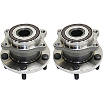 Rear Wheel Hub Bearing Assembly Driver and Passenger Side For AWD Models