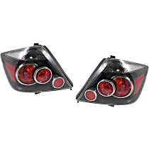 Driver and Passenger Side Tail Light, Without bulb(s)