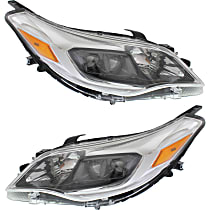 Driver and Passenger Side Halogen Headlight, With bulb(s) - (Exc. Limited/Hybrid Limited)