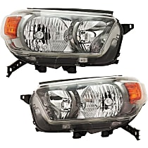 Headlights - Driver and Passenger Side, Pair, For Trail Package, CAPA Certified