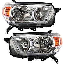 Headlights - Driver and Passenger Side, Pair, Without Trail Package