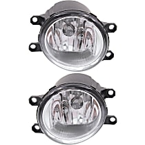 Fog Light - Driver and Passenger Side, CAPA Certified