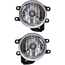 Fog Light Assembly - Driver and Passenger Side, Halogen, CAPA CERTIFIED