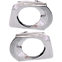 Fog Light Trim - Driver and Passenger Side, Chrome, with Appearance Package