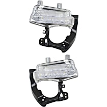 Driver and Passenger Side Driving Light - LED Type