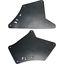 Fender Liner - Front, Driver and Passenger Side, Front Apron Seal