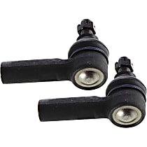 Tie Rod End - Front, Driver and Passenger Side, Outer, Set of 1