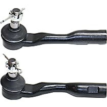 Tie Rod End - Front, Driver and Passenger Side, Outer, Set of 2