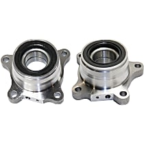 Rear, Driver and Passenger Side Wheel Hub and Bearing Assembly For RWD/4WD