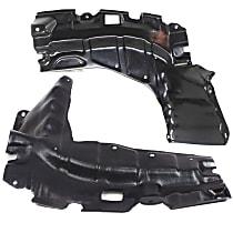 Driver and Passenger Side Engine Splash Shield