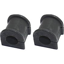 Sway Bar Bushing - Rubber, Direct Fit, Set of 2