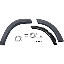 Fender Trim - Rear, Passenger Side, Paint to Match, Front and Rear Section