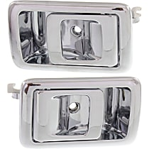 Interior Door Handle, Chrome Front or Rear, Driver and Passenger Side