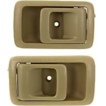 Interior Door Handle, Beige Front or Rear, Driver and Passenger Side