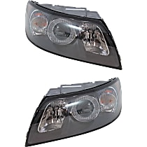 Headlights - Driver and Passenger Side, Pair, 2004-2007 Style, With Bulb(s)