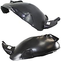 Fender Liner - Front, Driver and Passenger Side, Type 2