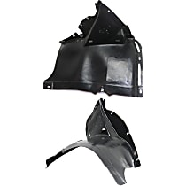 Fender Liner - Front, Driver and Passenger Side, Manual Transmission