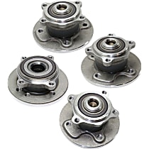 Wheel Hub - Front and Rear, Driver and Passenger Side, FWD