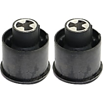 Trailing Arm Bushing - Factory Finish, Rubber, Direct Fit, Set of 2