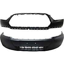 Front, Upper and Lower Bumper Cover
