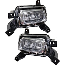 Driver and Passenger Side Driving Light, With bulb(s)