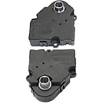 HVAC Heater Blend Door Actuator - Set of 2