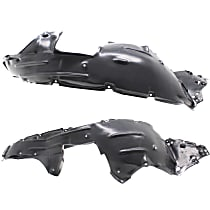 Fender Liner - Front, Driver and Passenger Side, Automatic Transmission