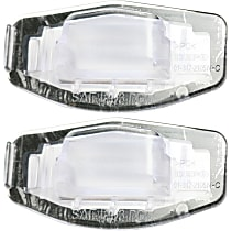 Replacement SET-RH73290001-2 License Plate Light - Direct Fit, Set of 2