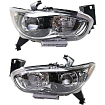 CAPA Certified Driver and Passenger Side HID/Xenon Headlight, With bulb(s)