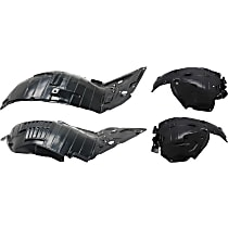 Fender Liner - Front, Driver and Passenger Side, Front and Rear Section