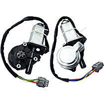 Rear, Driver and Passenger Side Window Motor, New