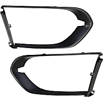 Driver and Passenger Side Grille Trim - Chrome