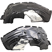 Fender Liner - Front, Driver and Passenger Side, Rubicon Model
