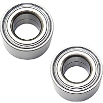 Wheel Bearing - Rear, Driver and Passenger Side, Set of 2