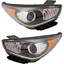 Driver and Passenger Side Halogen Headlight