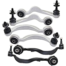 Control Arm - Front, Driver and Passenger Side, Upper and Lower, Set of 6