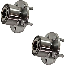 Front Wheel Bearing and Hub Assembly, Driver and Passenger Side For AWD Models