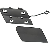 Rear, Upper and Lower Tow Eye Cover, Textured Black