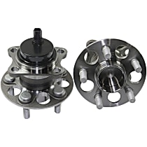 Rear Wheel Hub Bearing Assembly Driver and Passenger Side