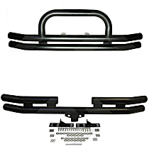 SET-RT0RT20006 Front and Rear Bumper, Powdercoated Black