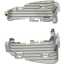 Replacement Driving Light Bracket - SET-RT11310001 - Driver and Passenger Side, Inner, Direct Fit
