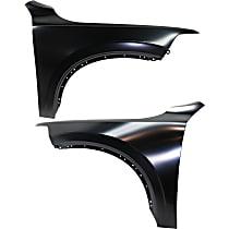 Fender - Front, Driver and Passenger Side, Steel, Except T8 Model