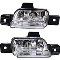 Replacement Back Up Light - SET-RV73130001 - Driver and Passenger Side, Direct Fit