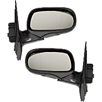 Mirror - Driver and Passenger Side (Pair), Power, Heated, Power Folding, Paintable, With Memory, For Sedan