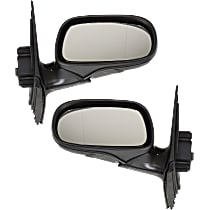 Kool Vue Power Mirror, Driver and Passenger Side, Sedan/Wagon, Power Folding, Heated, w/ Memory, Paintable