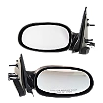 Kool Vue Manual Remote Mirror, Driver and Passenger Side, Non-Folding, Paintable
