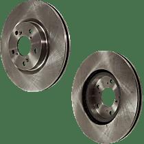 SET-STPA27110001-2 Brake Disc - Front, Driver and Passenger Side