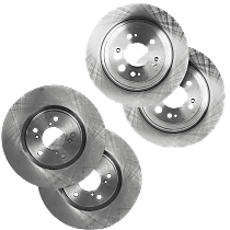 SET-STPA27110001-4-A Brake Disc - Front and Rear, Driver and Passenger Side